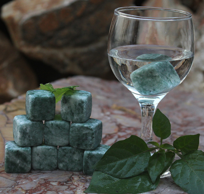 whiskey cube stone set